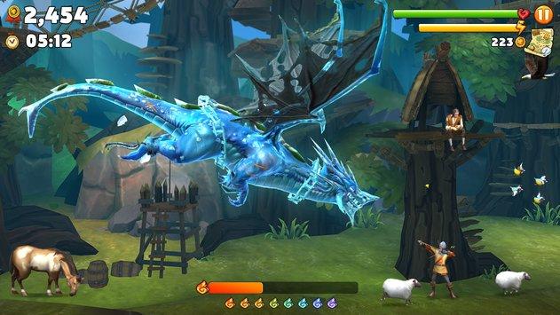 Hungry Dragon Android/IOS Screenshot