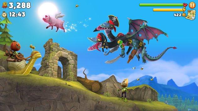 Hungry Dragon Android/IOS Screenshot 2