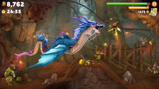 Hungry Dragon Android/IOS Screenshot 3
