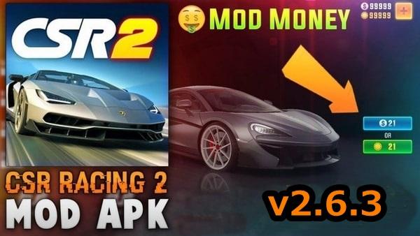 CSR Racing 2 mod apk - Download CSR Racing 5.0.1