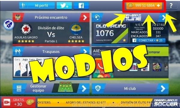 Dream League Soccer mod ios