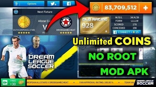 Dream League Soccer mod