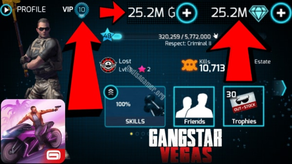 Gangstar Vegas: World of Crime mod apk