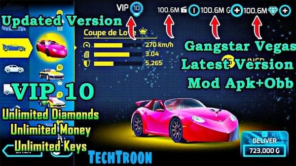 Gangstar Vegas: World of Crime mod ios
