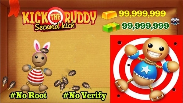 Kick the Buddy mod ios