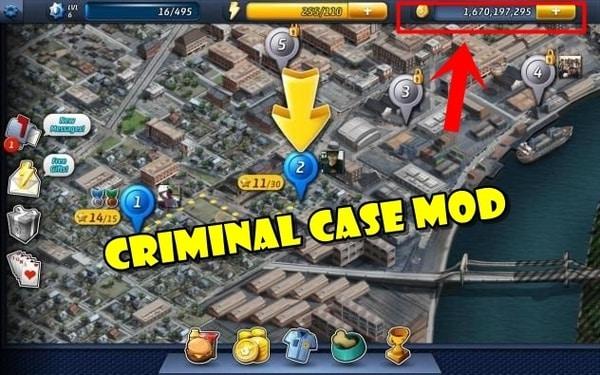 Criminal Case mod ios