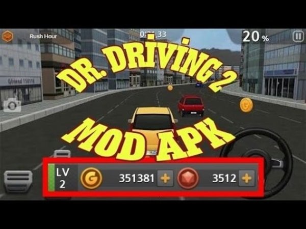 Dr. Driving 2 mod