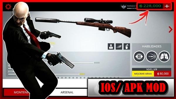 Hitman Sniper mod apk