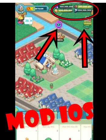 Merge Village mod ios