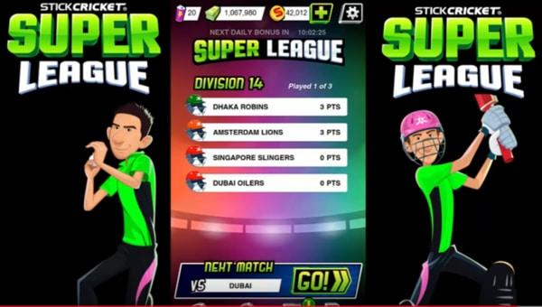 Stick Cricket Super League mod ios