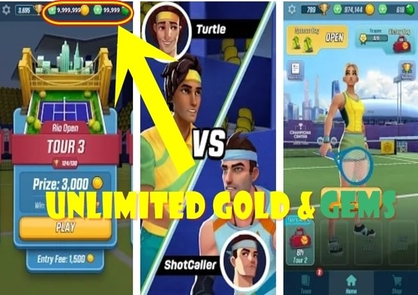 Tennis Clash mod