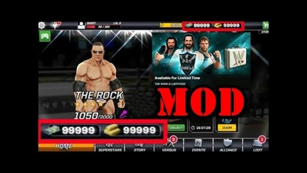 WWE Mayhem mod