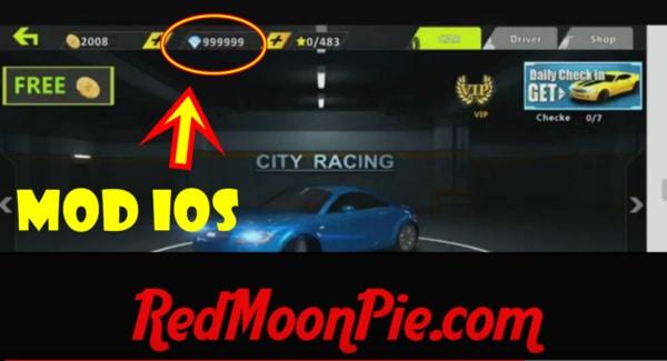 city racing 3d mod ios