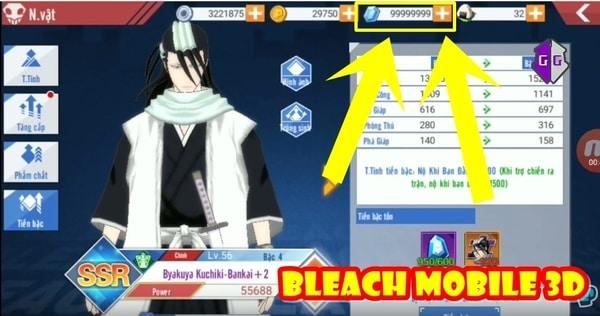 BLEACH Mobile 3D mod