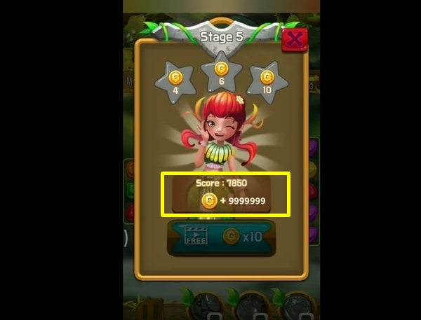 Candy forest fantasy mod