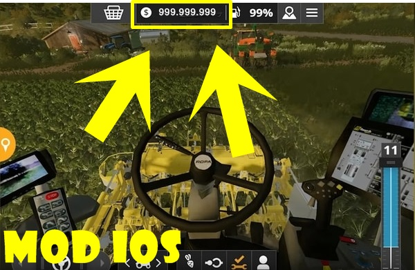 Farming Simulator 20 mod ios