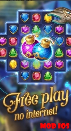 Jewel Mystery mod ios