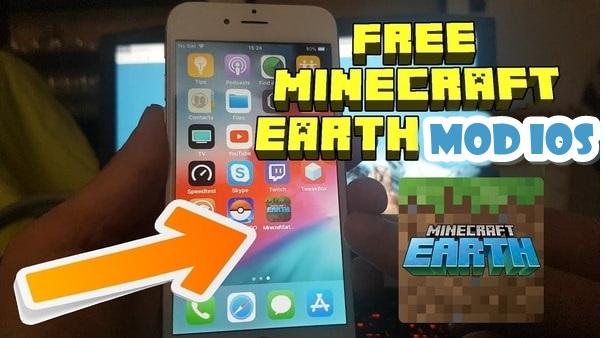 Minecraft Earth mod ios