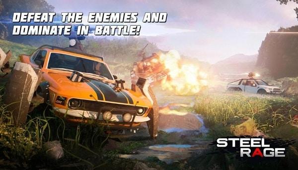 Steel Rage mod ios