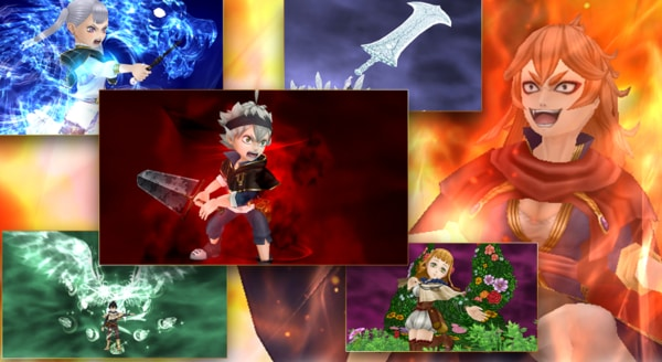 Black Clover Phantom Knights mod ios