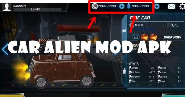 Car Alien mod apk