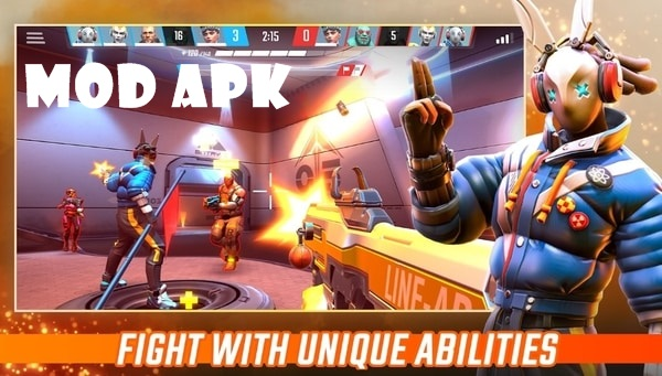 SHADOWGUN War Games mod apk