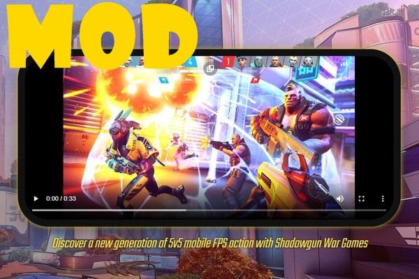 SHADOWGUN War Games mod
