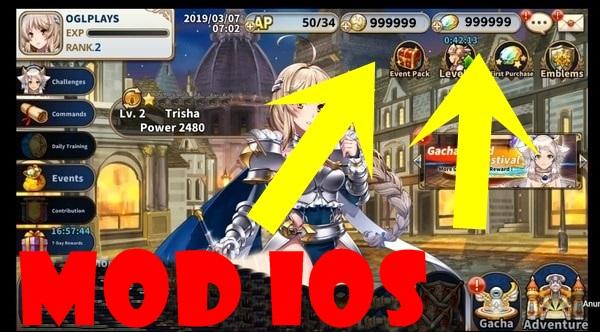 Sacred Sword Princesses mod ios