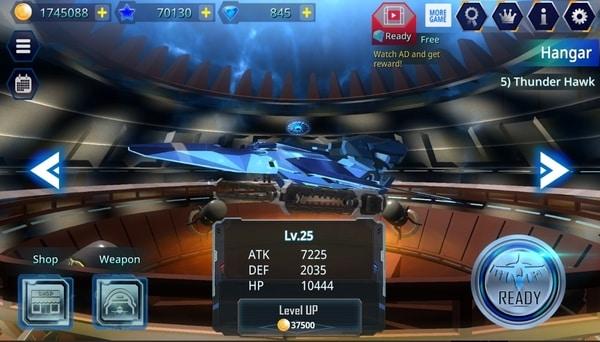 Galaxy Airforce War mod ios