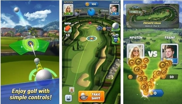 Golf Challenge World Tour android