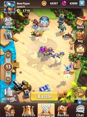 I Am Hero: AFK Tactical Teamfight mod