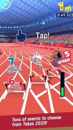 SONIC AT THE OLYMPIC GAMES mod apk