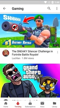 YouTube Vanced android