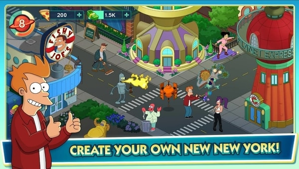 Futurama Worlds of Tomorrow mod