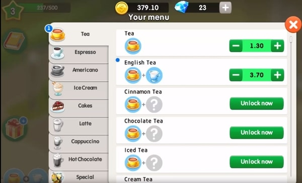 My Cafe Restaurant game mod apk