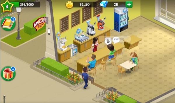My Cafe Restaurant game mod ios