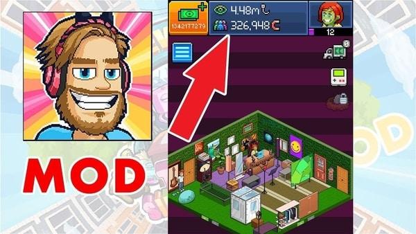 PewDiePie's Tuber Simulator mod ios