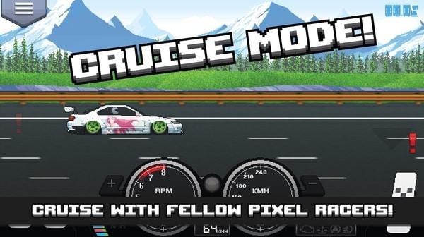 Pixel Car Racer mod ios