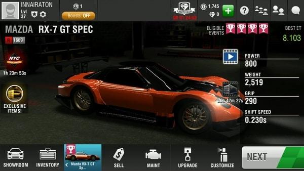 Racing Rivals mod ios