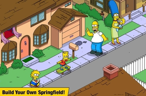 The Simpsons Tapped Out mod ios