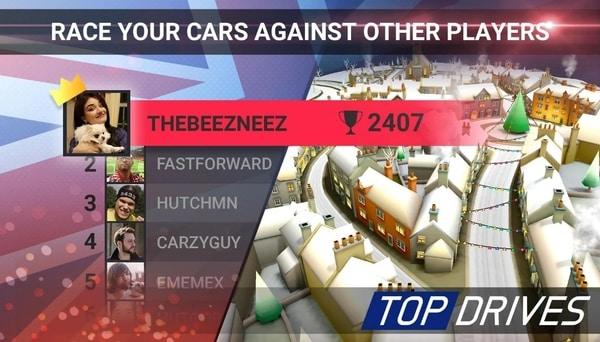 Top Drives Car Cards Racing mod