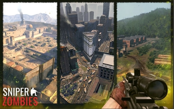 Sniper Zombies mod ios