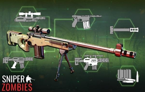 Sniper Zombies mod