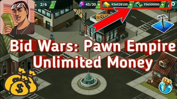 Bid Wars Pawn Empire mod