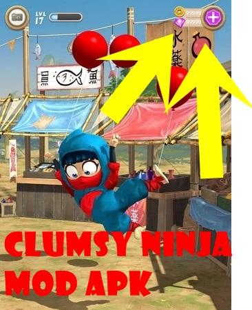 Clumsy Ninja mod ios