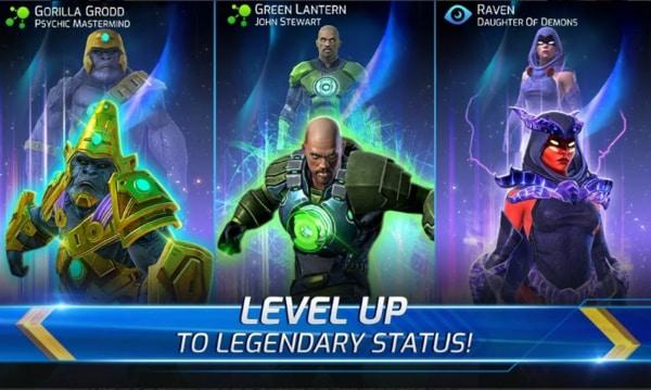 DC Legends Battle for Justice mod ios