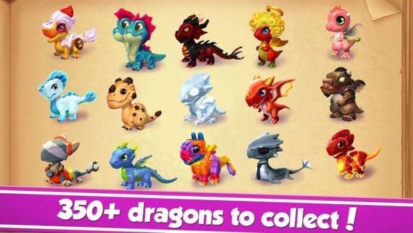 Dragon Mania Legends mod ios