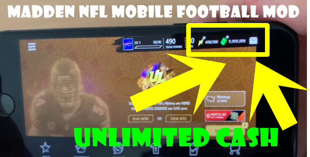 Madden NFL Mobile Football mod ios