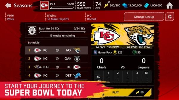 Madden NFL Mobile Football mod