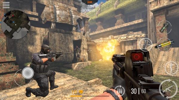 Modern Strike Online mod ios